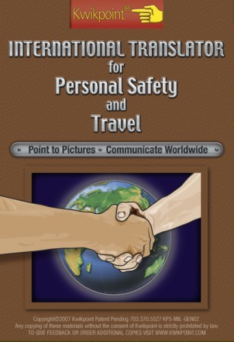 9781880235164: Kwikpoint International Translator for Personal Safety and Travel