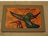 Hummingbird Words: Affirmations for Your Spirit to Soar and Notes to Nurture by (9781880257005) by Marvel Harrison; Terry Kellogg