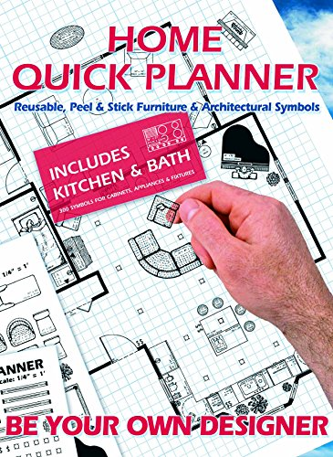 9781880301036: Home Quick Planner: Reusable, Peel & Stick Furniture & Architectural Symbols