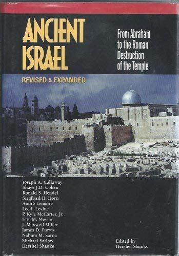 9781880317532: Ancient Israel: From Abraham to the Roman Destruction of the Temple