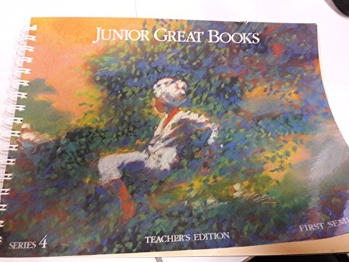 9781880323298: Junior Great Books: Series 4: First Semester: Teacher's Edition
