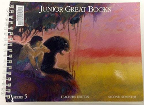 Junior Great Books Teacher's Edition Series 5 Second Semester (188032332X) by Great Books Foundation