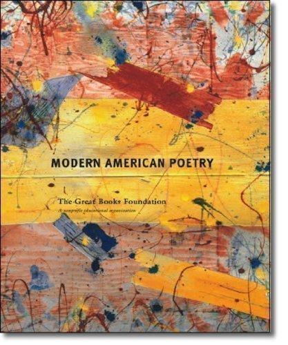 9781880323885: Modern American Poetry