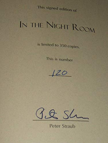 In the Night Room: Straub, Peter