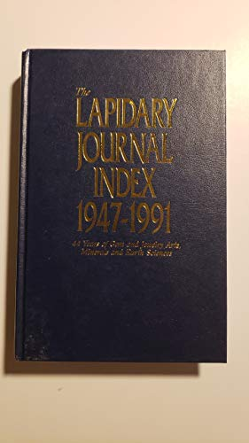 9781880383117: Lapidary Journal Index 1947-1991