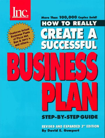 9781880394236: How to Really Create a Successful Business Plan: Third Edition