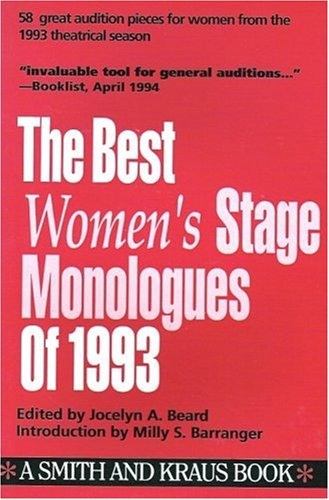 9781880399422: The Best Women's Stage Monologues of 1993