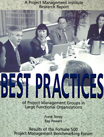 9781880410059: Best Practices of Project Management Groups in Large Functional Organizations