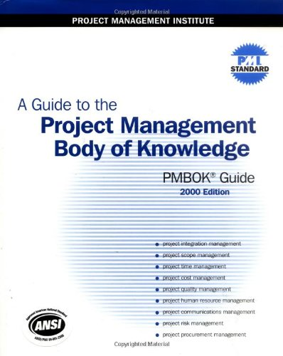 9781880410226: A Guide to the Project Management Body of Knowledge (PMBOK Guide): 2000 Edition