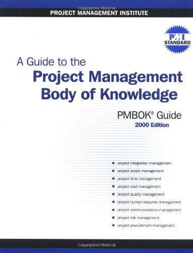 9781880410233: A Guide to the Project Management Body of Knowledge (PMBOK Guide) -- 2000 Edition