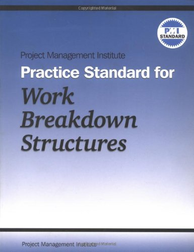 9781880410813: Project Management Institute Practice Standard for Work Breakdown Structures