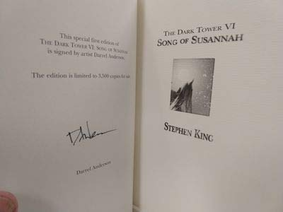 9781880418581: The Dark Tower: Song Of Susannah, The Dark Tower