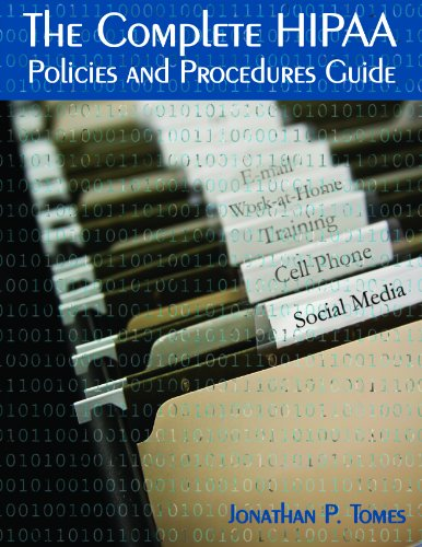 9781880483589: The Complete HIPAA Policies and Procedures Guide