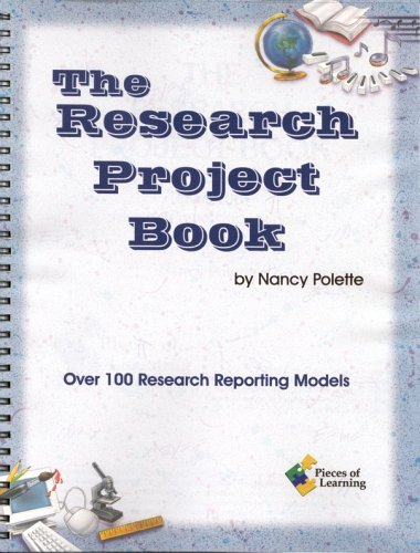 9781880505342: Research Project Book: Over 100 Research Reporting Models!