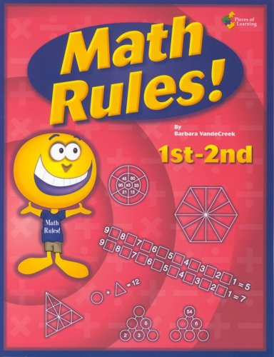 9781880505793: Math Rules!: 1st-2nd grade 25 week enrichment challenge *Now Includes PDF of Book*