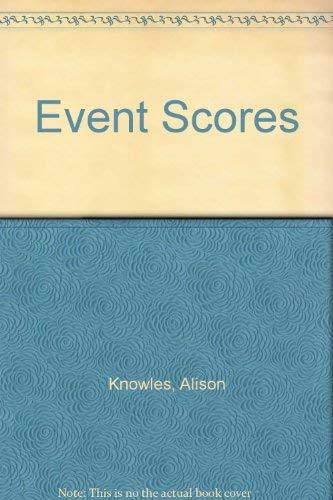 9781880516034: Event Scores