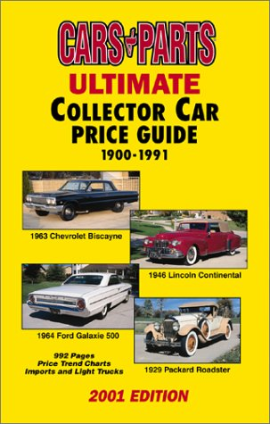 Ultimate Collector Car Price Guide: Cars & Parts