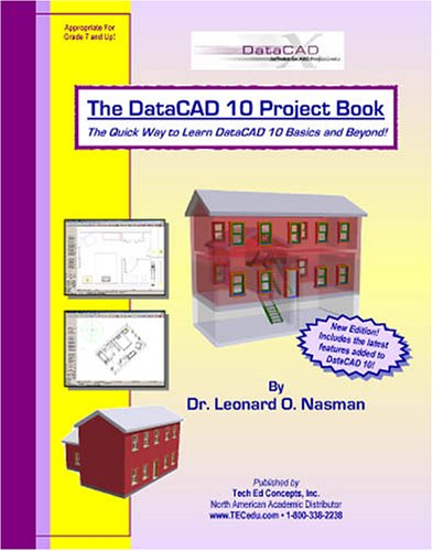 9781880544761: The DataCAD 10 Project Book