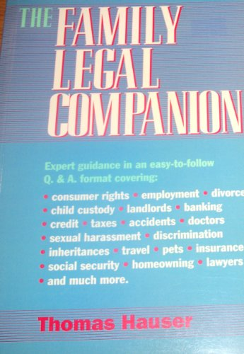 9781880559048: The Family Legal Companion