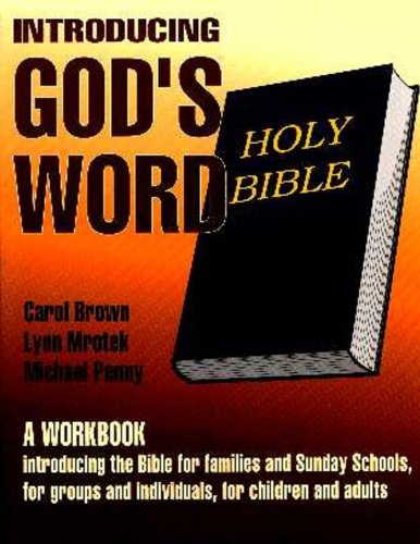 9781880573549: Introducing God's Word