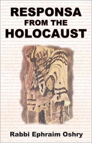 9781880582718: Responsa from the Holocaust