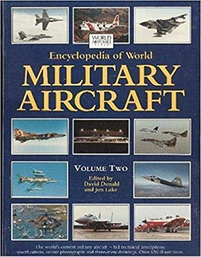 9781880588154: Encyclopedia of World Military Aircraft, Vol. 2 (World Air Power Journal)