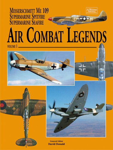 Air Combat Legends Volume 1-Supermarine Spitfire and: Donald, David