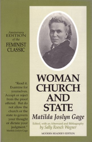 9781880589274: Woman, Church and State