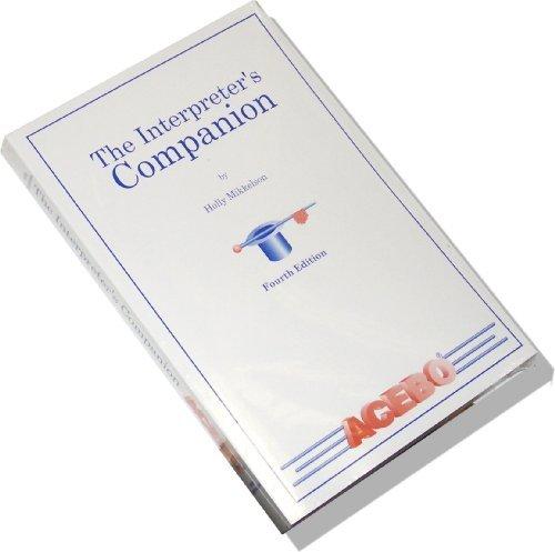 9781880594223: The Interpreter's Companion