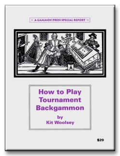 9781880604144: How to Play Tournament Backgammon