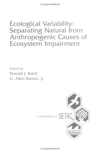 Ecological Variability: Separating Natural from Anthropogenic Causes: Baird, Donald J.