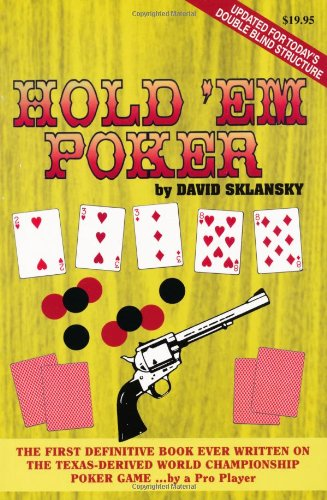 9781880685082: Hold'em Poker: A Complete Guide to Playing the Game