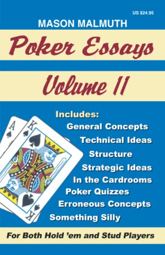 9781880685150: Poker Essays, Volume II