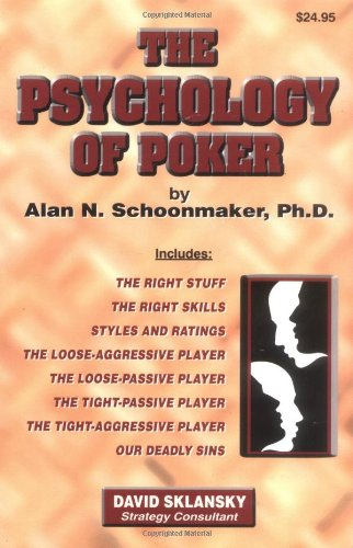 9781880685259: The Psychology of Poker