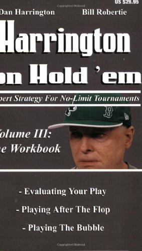 used Harrington on Hold 'em: Volumes 1, 2 and 3 texas poker holdem books