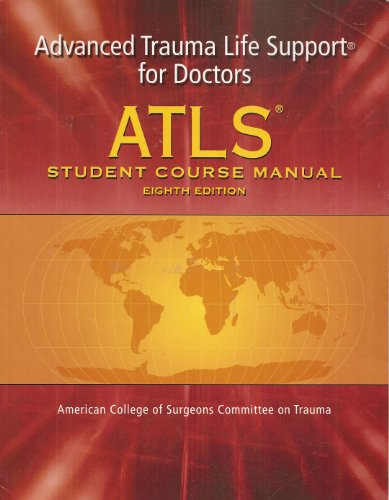 ATLS Advanced Trauma Life Support Program for: American College of