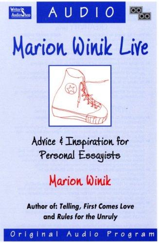 9781880717448: Marion Winik Live: Advice & Inspiration for Personal Essayists (2 Audio Cassettes)