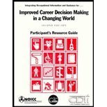 9781880774236: Improved Career Decision Making in a Changing World: Participant's Resource Guide
