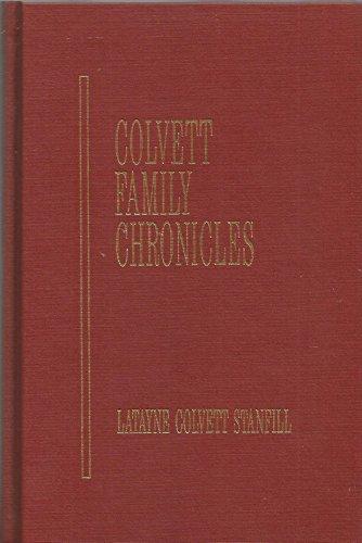 9781880799000: Colvett family chronicles: The history of the Colvett family of Tennessee, 1630-1990