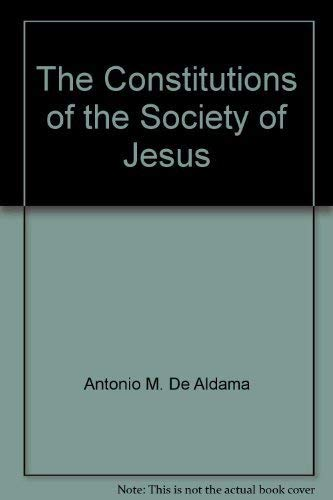 9781880810132: The Constitutions of the Society of Jesus