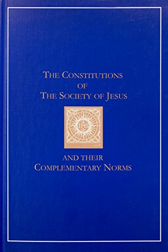 9781880810231: The constitutions of the Society of Jesus and their complementary norms: A complete English translation of the official Latin texts (Series I--Jesuit primary sources, in English translations)