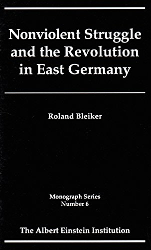 9781880813072: Nonviolent Struggle and the Revolution in East Germany (Monograph Series (Albert Einstein Institution (Cambridge, Mass.)), No. 6,)