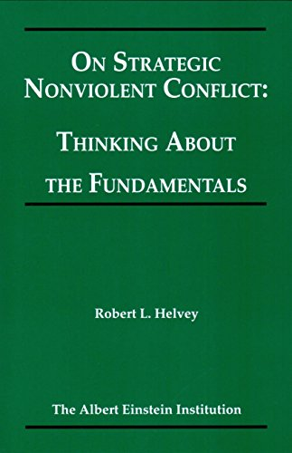 9781880813140: On Strategic Nonviolent Conflict: Thinking About the Fundamentals