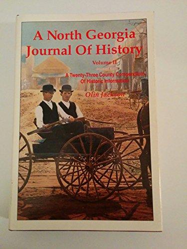 9781880816011: A North Georgia Journal of History, Volume II