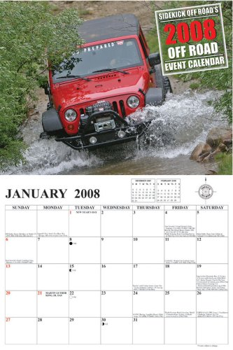 9781880824993: 2008 Sidekick Off Road Event Calendar