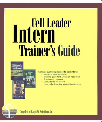 9781880828939: Cell Leader Intern Trainer's Guide