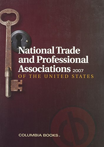 9781880873526: National Trade and Professional Associations of the United States 2007 (National Trade & Professional Associations)