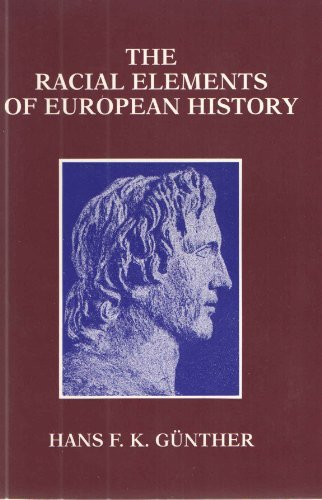 9781880881019: The Racial Elements of European History