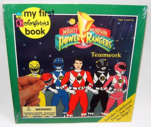 9781880889282: Mighty Morphin Power Rangers (My 1st Colorforms Book)