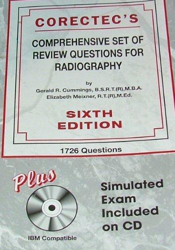 Corectec's Comprehensive Set of Review Questions For: Cummings, Gerald R.;